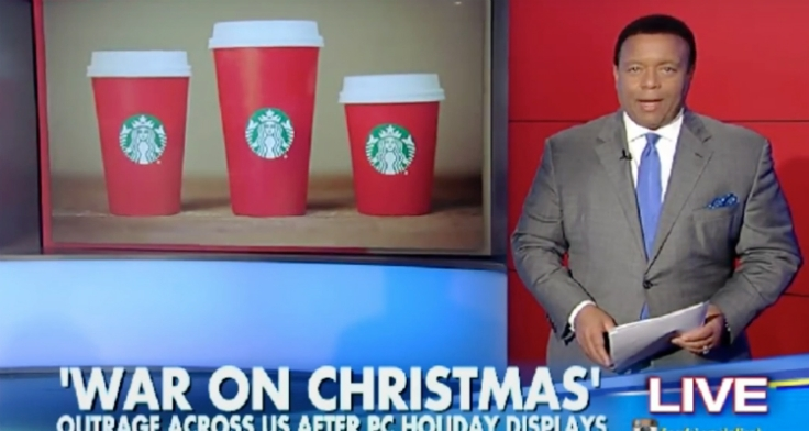 Christians Starbucks Red Cups Merry Christmas