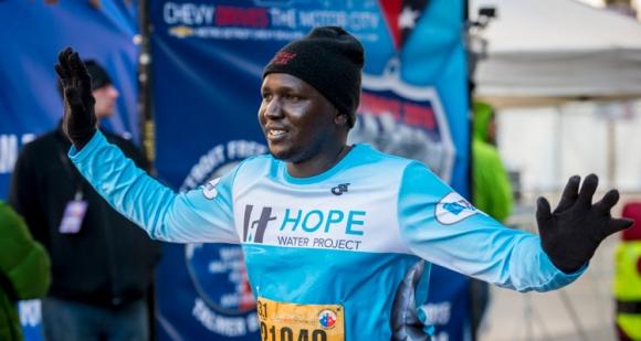 Hope Water Project, running, half marathon
